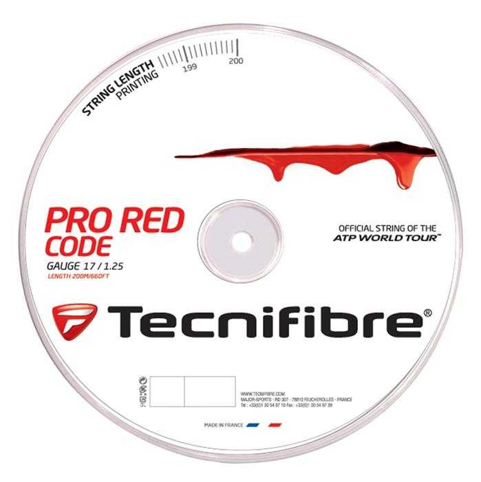 bobine tecnifibre pro red code 1 25 mm ecosport. Black Bedroom Furniture Sets. Home Design Ideas