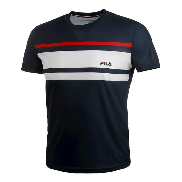 T Shirt Fila Junior Trey Bleu Marine