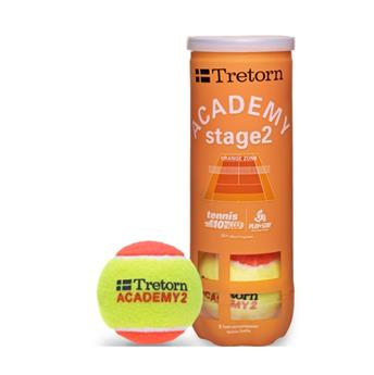 BALLES TRETORN ACADEMY   X 72 ORANGE