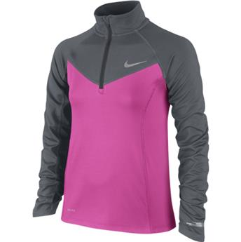 Sweat Nike 1/2 zip ls top junior fille 641659  c 667