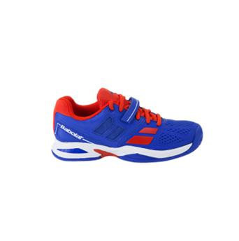 Chaussure Babolat  Propulse junior bleu/rouge