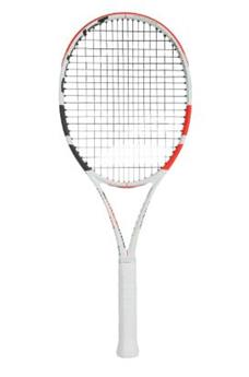 Raquette Babolat Pure Strike 100  blanc/rouge