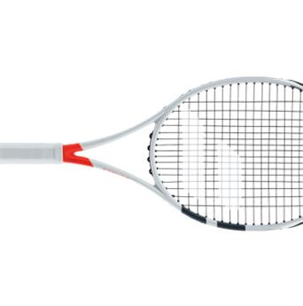 Raquette Babolat Pure Strike  16/19  blanc/rouge