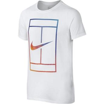 Tee Shirt Nike Irridescent Court junior  832331 c 100