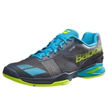 Chaussure Babolat Jet all court men gris bleu  jaune