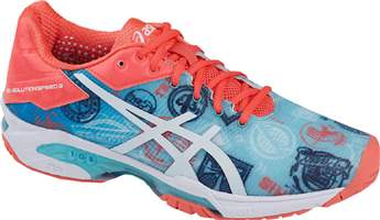 Chaussure Asics solution speed 3 W L.E Paris E761N-4301