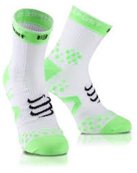 Chaussettes Compressport Strapping white