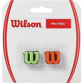 Antivibrateur Wilson Pro Feel vert/orange