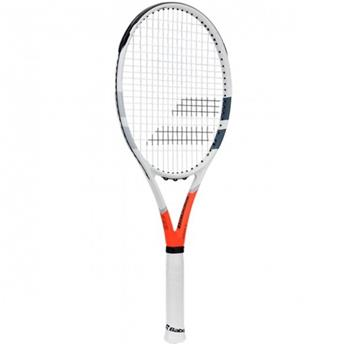 Raquette Babolat Pure Strike Lite  blanc/orange/gris