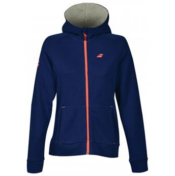 Sweat Babolat Core Hood girl estate blue