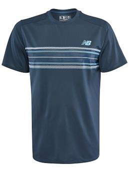 Tee Shirt New Balance Rally crew men MT83410