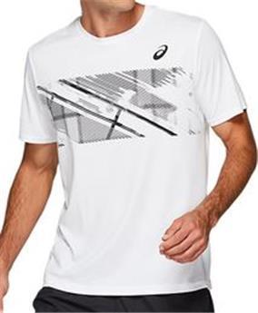 fec5bb5cbe Tee shirt Asics Practice M Gpx ss 2041A069- 100 - Ecosport Tennis