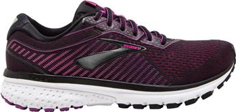 Chaussures Brooks Women Ghost 12 black/hollyhock/pink