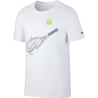 Tee Shirt Nike men  Graphic Tennis CQ2416-100