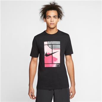 Tee Shirt Nike men Court Tennis CQ2422-010
