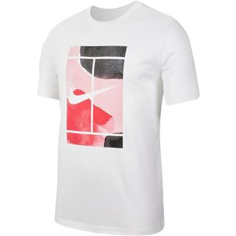 Tee Shirt Nike men Court Tennis CQ2422-100