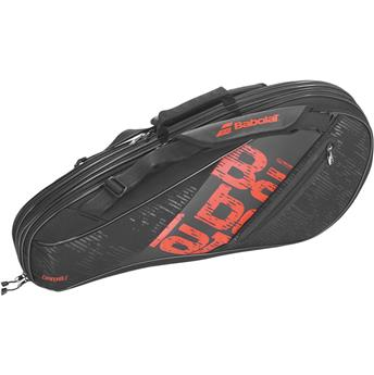 Sac Babolat Expandable Team line noir/rouge