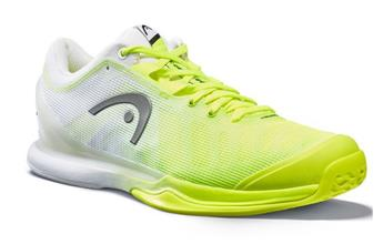 Chaussures Head Sprint Pro 3.0 men néon yellox / white 273020