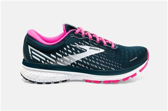 Chaussures Brooks Women Ghost 13 reflectivee pond/pink/ice